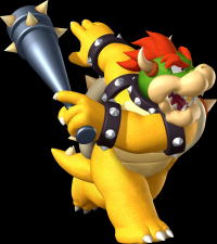 Mario Superstar Baseball Bowser