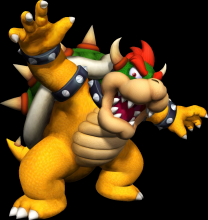 Bowser Happy
