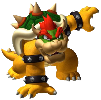 Bowser Crouching bowser render,
