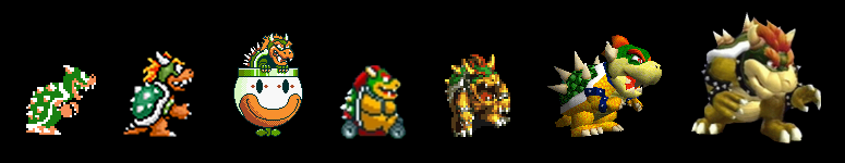 Bowser Depictions